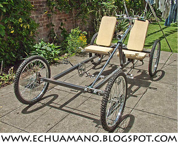 how to build a tandem bike