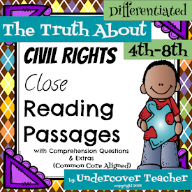 Civil Rights Close Reading Passages