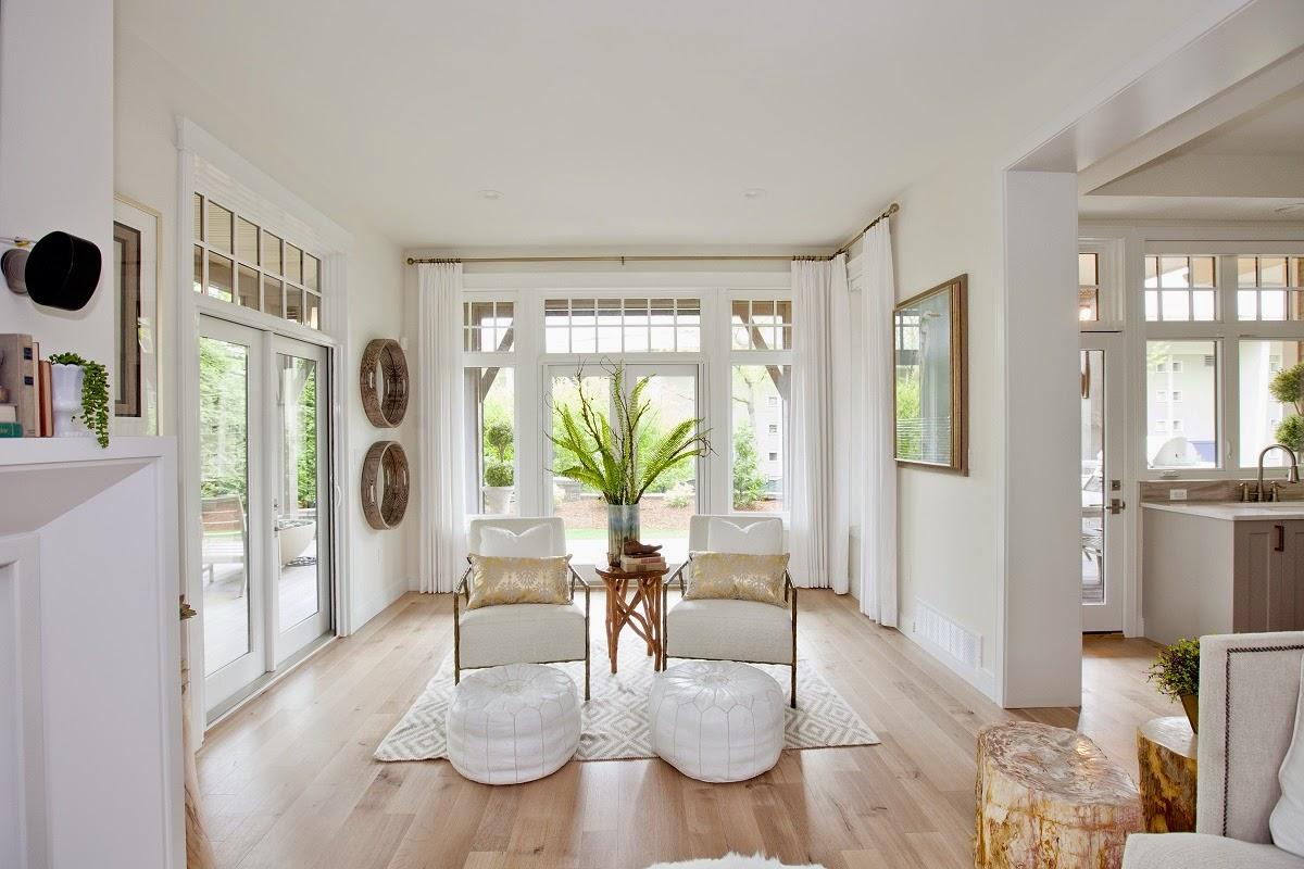 Blanco interiores a casa da lotaria - Jillian harris casa ...