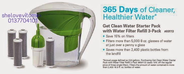 Penapis air paling mudah dan murah