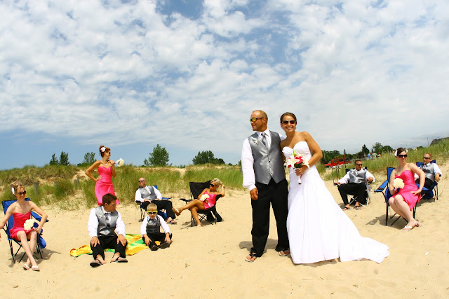 Ludington Michigan Wedding Photographer