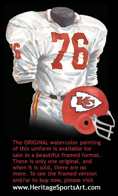 Kansas City Chiefs 1966 uniform