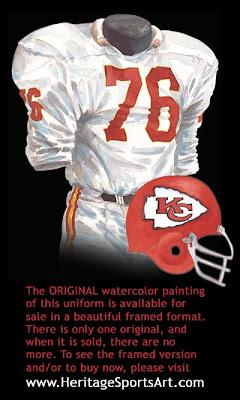 Kansas City Chiefs 1966 uniform