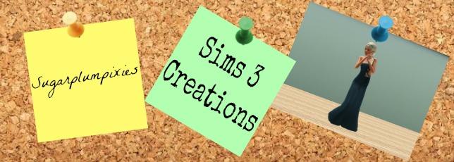 Sugarplumpixies Sims 3 stuffs
