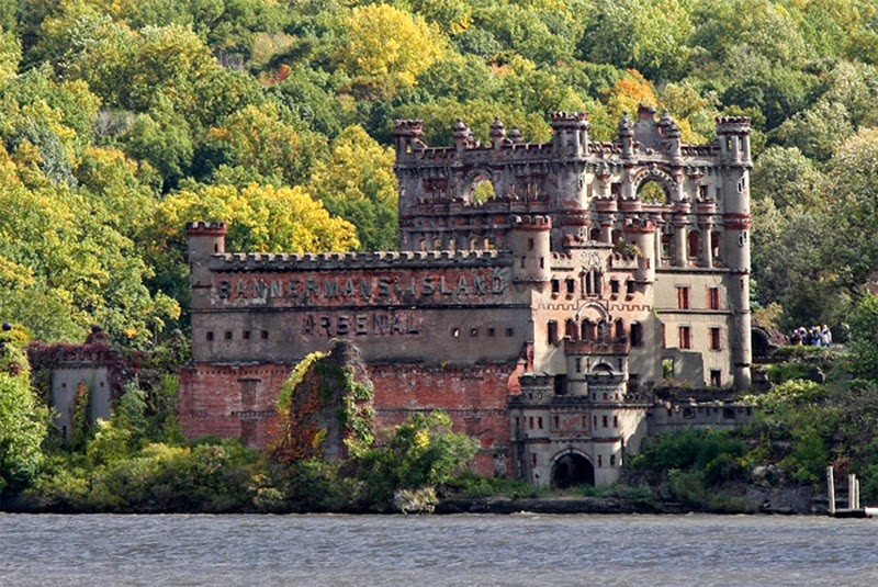 Bannerman Castle in New York
