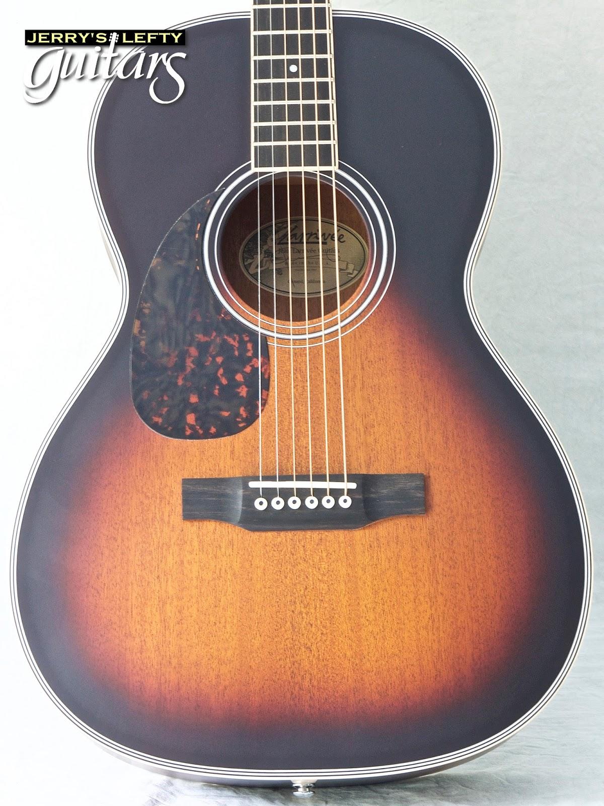 Vintage left handed guitar phrase