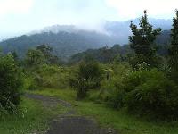 Wisata alam gunung kabupaten lingga