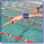 молодые дайвингисты: юношеское областное первенство по подводному плаванию.