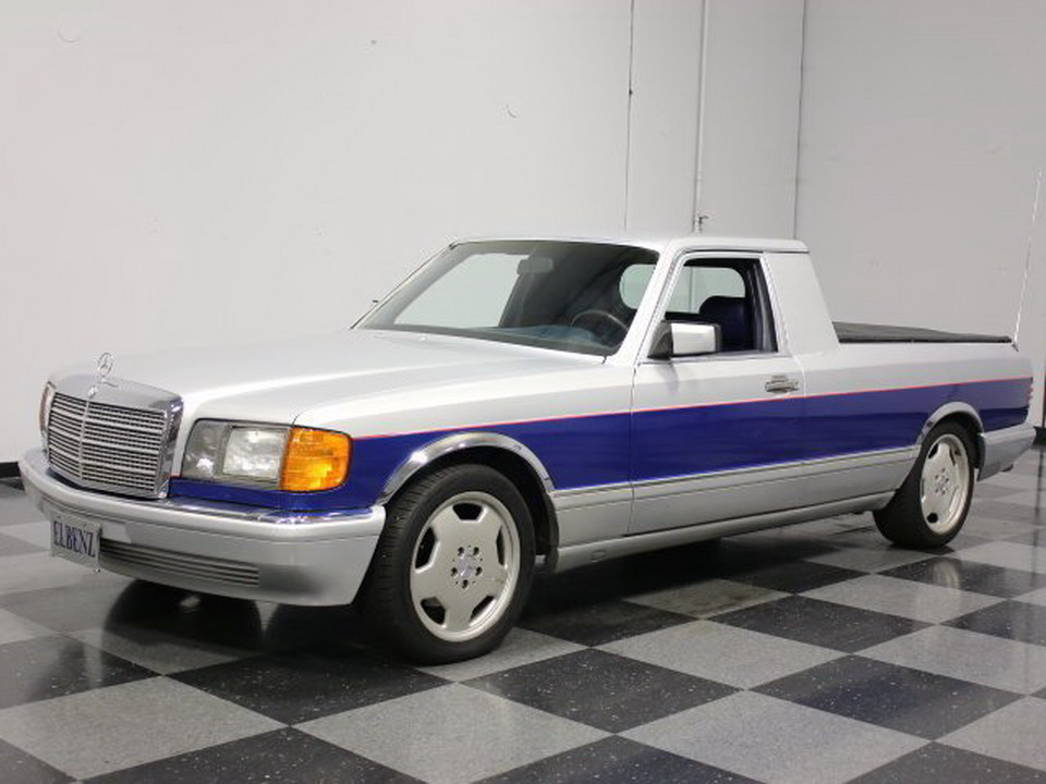 The mercedes benz s class pickup truck you never knew for Pick up mercedes benz