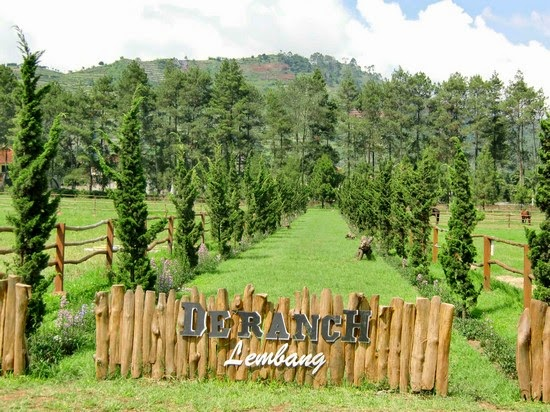 De' Ranch Lembang wisata alam