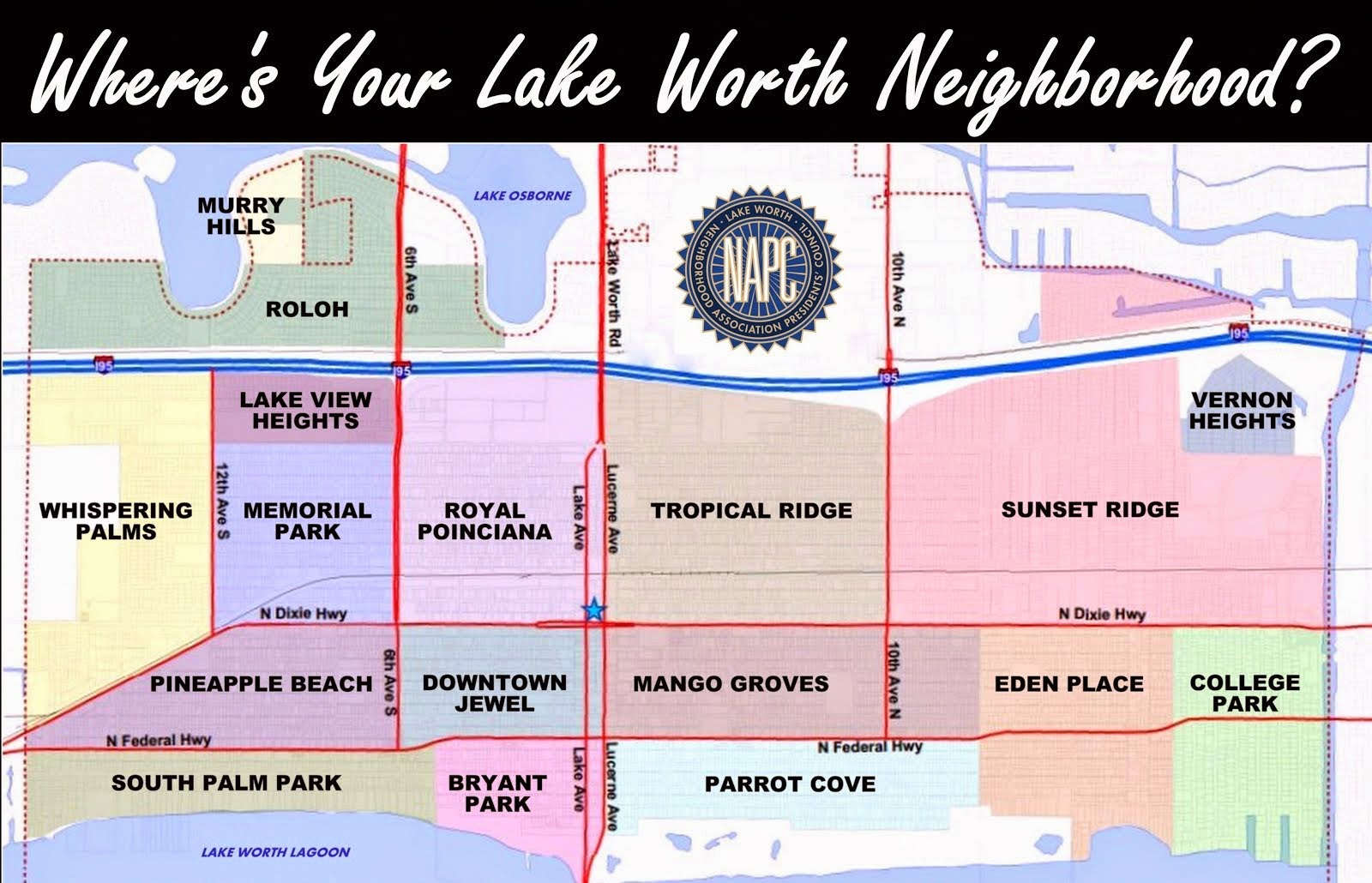 Where's Your Lake Worth Neighborhood?