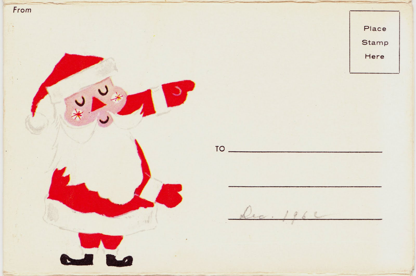 Free Printable Santa Envelopes Templates | Creation4home.top