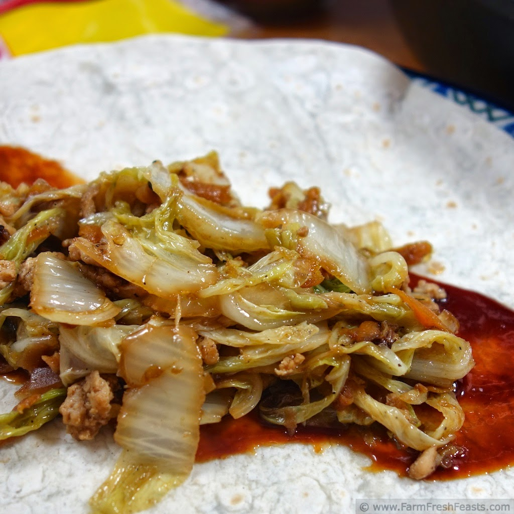 how to cut up chinese cabbage