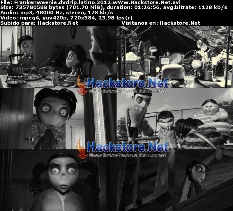 Captura Frankenweenie 2012 Dvdrip Latino