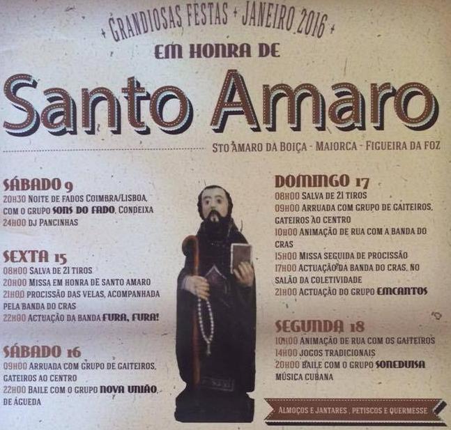 Festas em honra de Santo Amaro