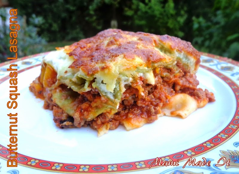 Butternut Squash Lasagna - Kürbis-Lasagne