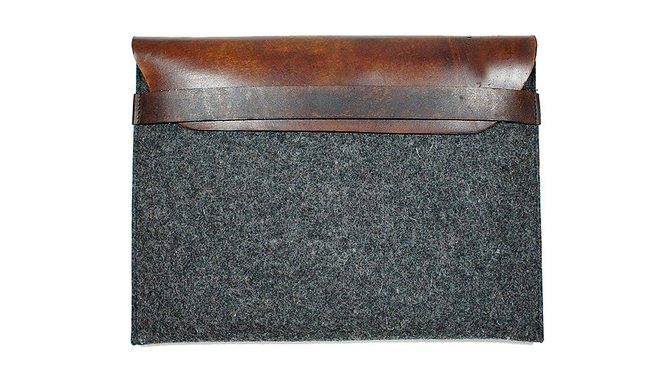 wool ipad sleeve