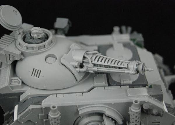 Warhammer 30k Sons of Horus  SOH+Predator+WIP+05
