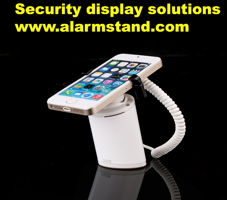 Security Display Alarm Stands for Mobile Phone Retail Stores