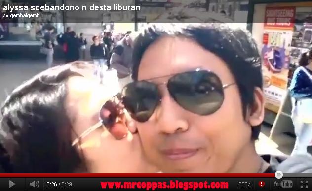 Foto dan video ciuman desta dan alyssa 41