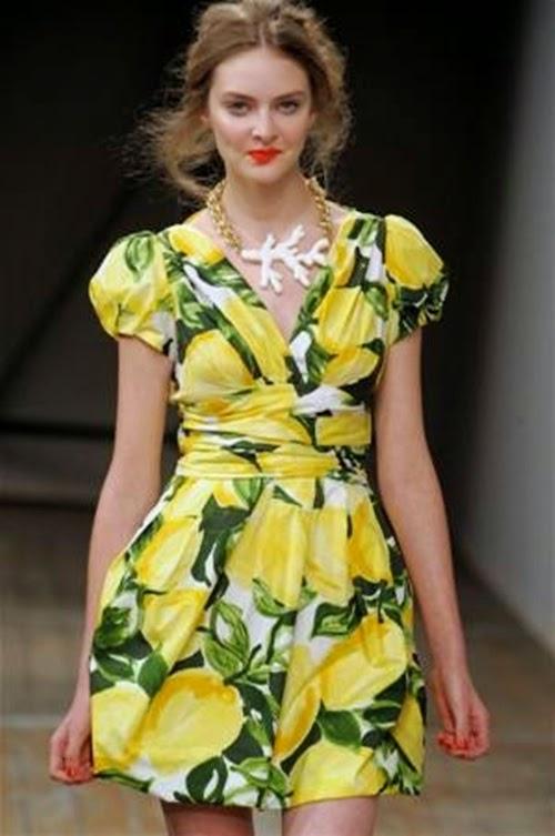 tropikal-desen-elbise