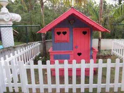Casinha de cachorro rosa
