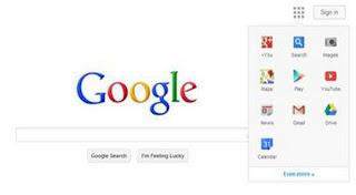 Tampilan google masa depan