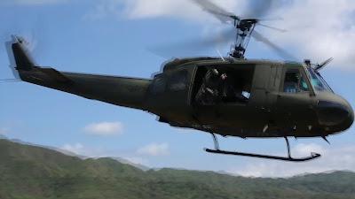 Huey Combat Utility Helicopter