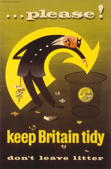 Mad For Mid Century Keep Britain Tidy Vintage Posters
