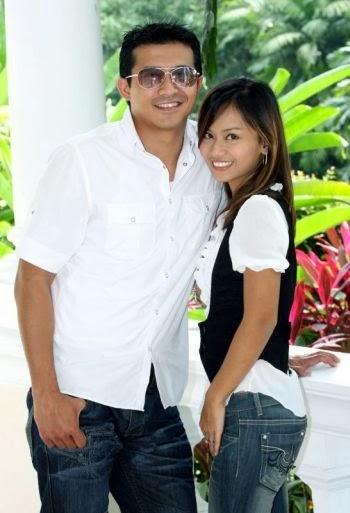 Aaron Aziz dan Isterinya Diyana Halik