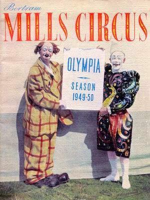 Poster for Bertram Mills Circus