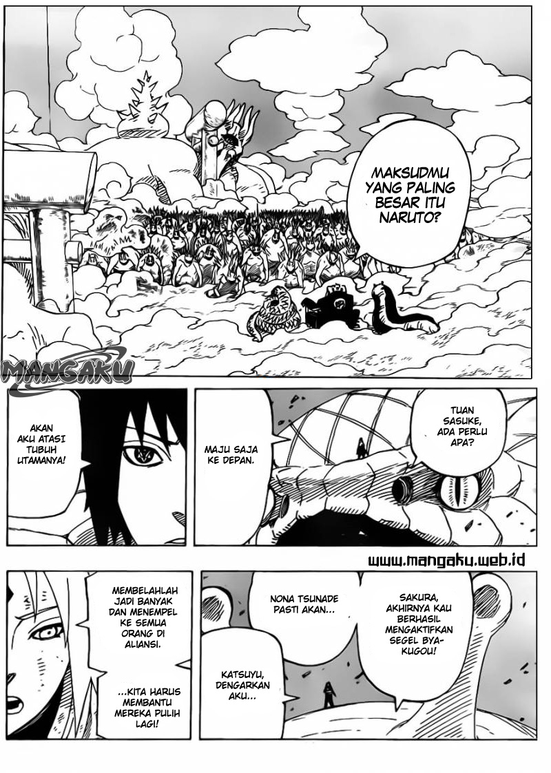 Naruto Chapter 634 Bahasa Indonesia - Tiga Legenda Sannin