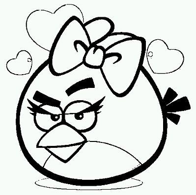 Banco de Imagenes y fotos gratis: Angry Birds para Pintar ...