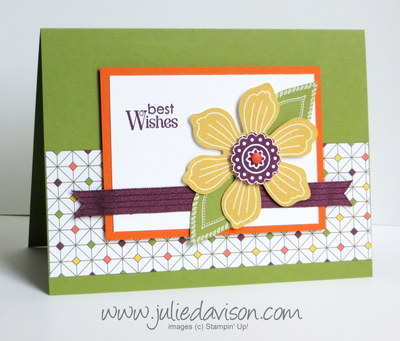 Stampin' Up! Bloom for You Card with In Colors