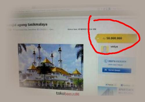 Iklan Jual Masjid Online