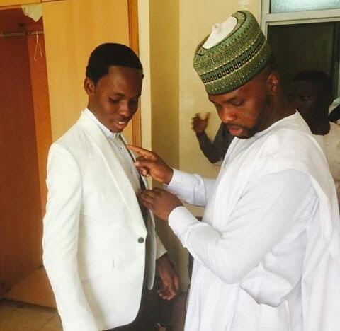 President photographer Bayo Omboriowo at his wedding today(Photos)