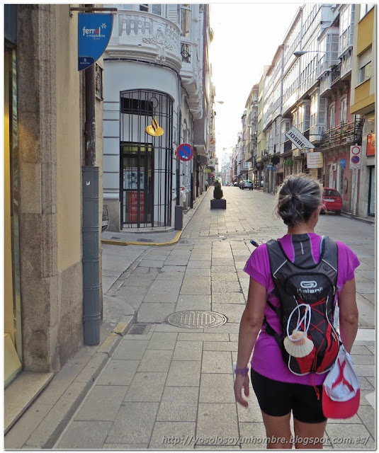 Calles típicas de Ferrol