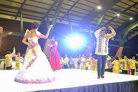 Abaca, A Fiber of Faith Cultural Fashion Show in Catanduanes Photo by Catanduanes Serbihan