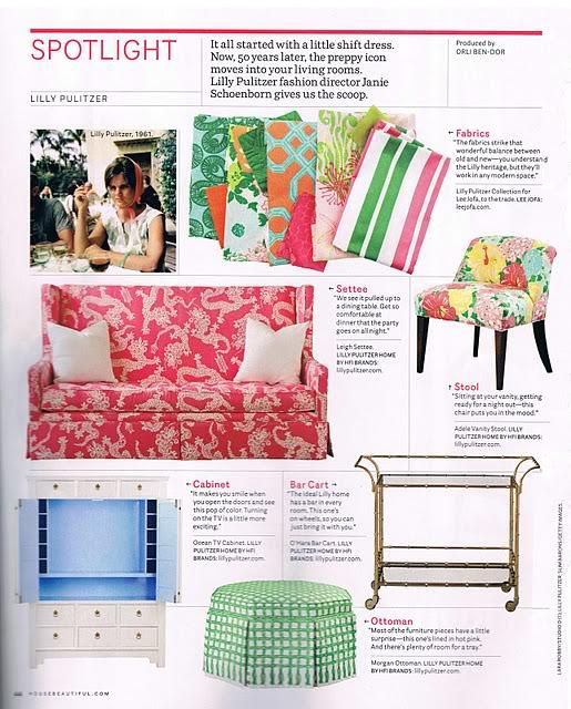 Haymarket Designs Loving Lilly Pulitzer Furniture