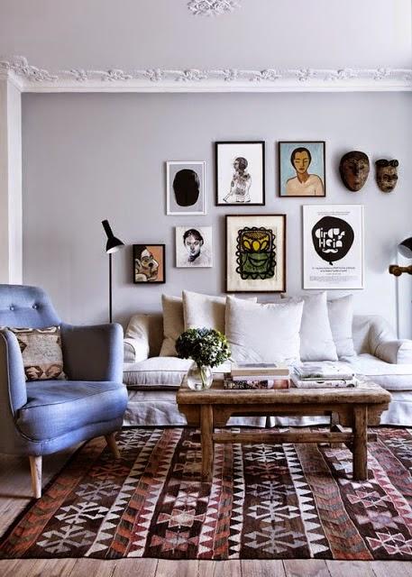 art wall gallery display