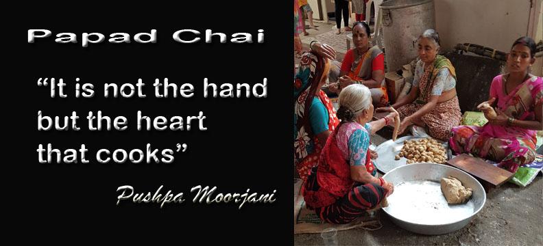 Papad Chai