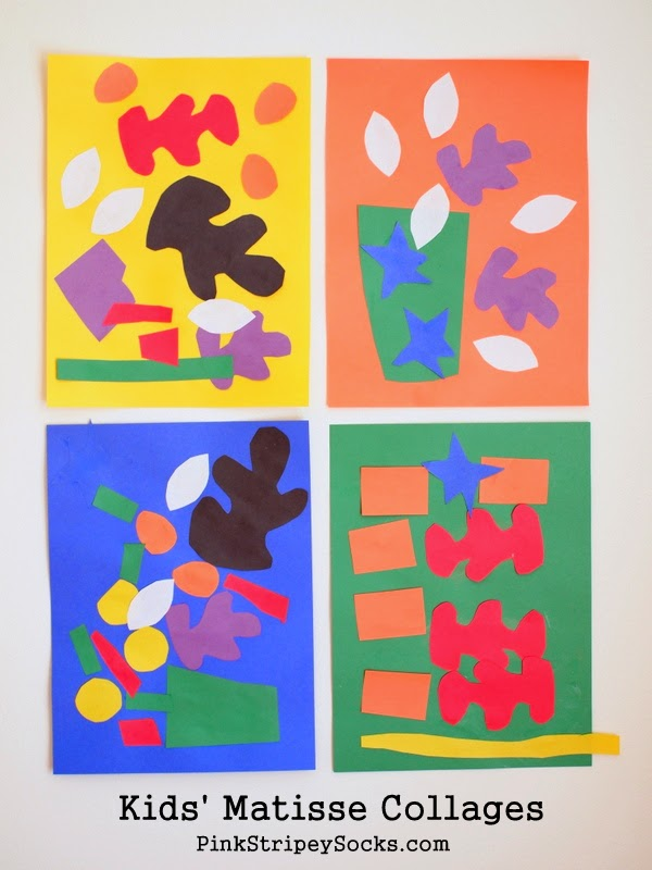 http://www.pinkstripeysocks.com/2014/06/kids-matisse-inspired-collages.html