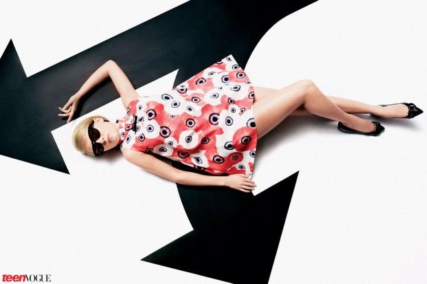 AnnaSophia Robb para Teen Vogue.