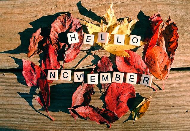 Xin chào tháng 11 yêu thương nhé :)