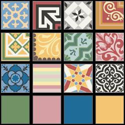 Carreaux ciment traditionnels et contemporains prix - Carreaux de ciment patchwork ...