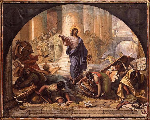 Raymond Balze, Jesus Clears the Temple
