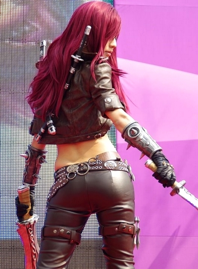 Cosplay Katarina Character League of Legends