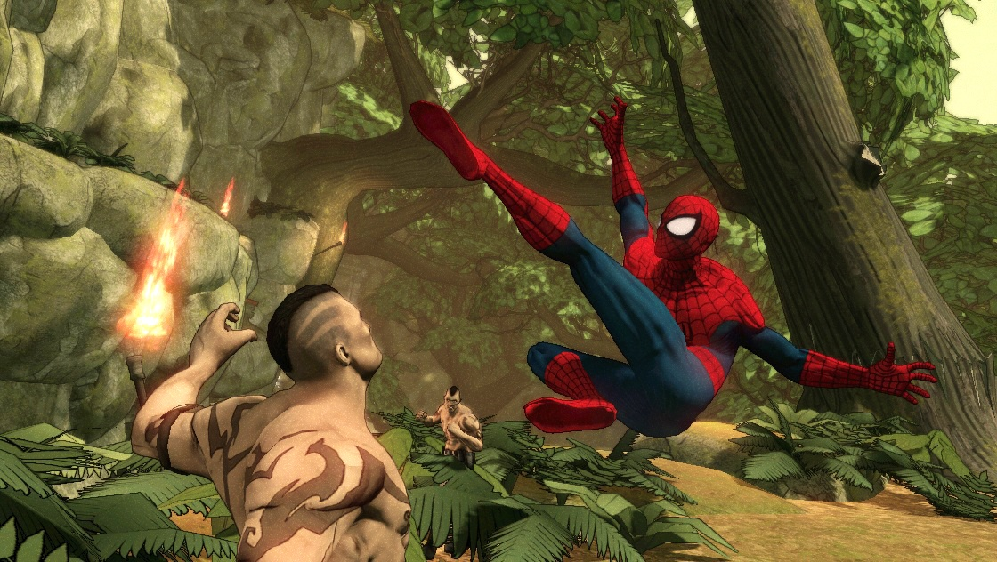 Akshayki: Spiderman Shattered Dimensions-[RELOADED]