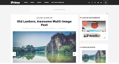 Iprime-blogger-template