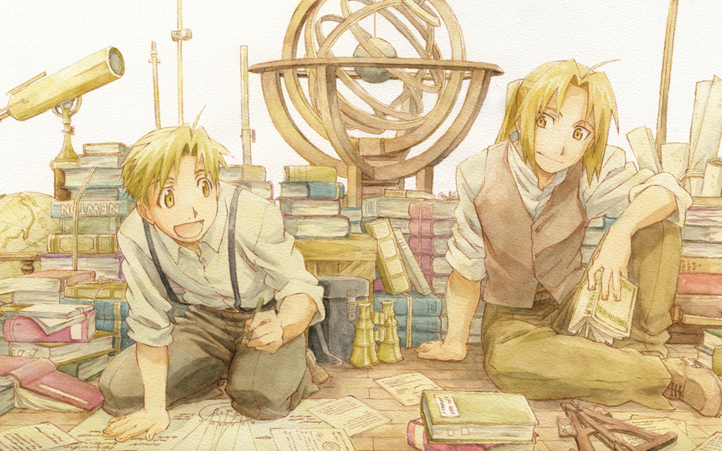 Full Metal Alchemist HD & Widescreen Wallpaper 0.769433482033767